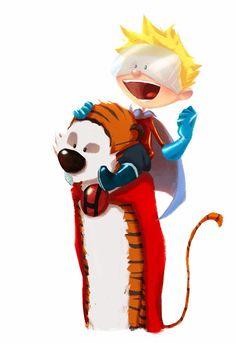 Calvin & Hobbes, Andry Shango