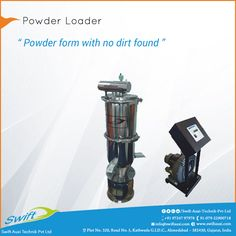 No contamination with Powder Loader by Swift Auxi Technik to give pure form by separating material through vacuum vessels.  #PowderLoader #PowderLoaderManufacturer  #PowderLoaderSuppliers #PowderLoaderTraders #PowderLoaderExporters   W:http://www.swiftauxi.com/   M:+91 9724797978