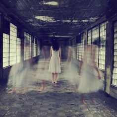 17 & GONE inspirations: A room of ghosts. (Photo by Sarah Ann Loreth)