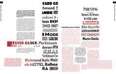 Trabajo final - Tipografía II - Cátedra Gaitto - Revista de la Cátedra - 12-13