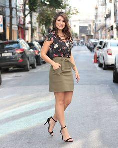 """Pitanga SP   Moda feminina on Instagram: """"Meninas, look lindo e delicado para começar bem a semana! 🙃 . COMPRE já o seu =] Vendas por Direct . Blusa - R$ 119.00 Saia R$139.00 .…"""""""