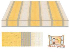 Tende da sole Tempotest gialli 5071/82