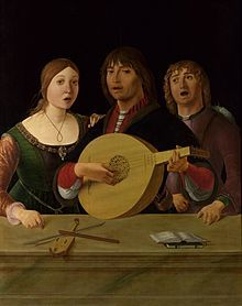 Il concerto, Lorenzo Costa (1490)
