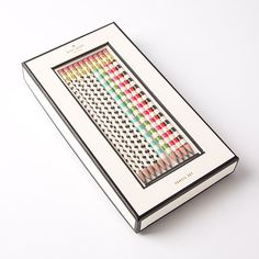 Stripes & Dots Pencil Set by Kate Spade New York Price $19.95
