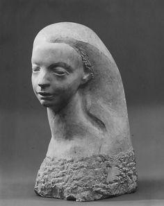 Isamu Noguchi  (American, Los Angeles, California 1904–1988 New York) | Lillian Gish | 1937