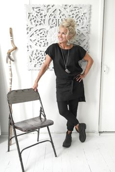 BYPIAS Linen Tunic & Pants / @bypiaslifestyle www.bypias.com