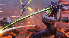 Download Overwatch Game Wallpaper High Resolution 3840x2160