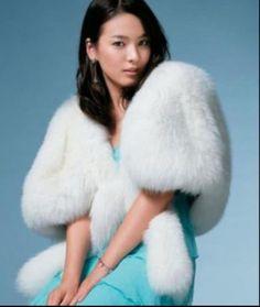 Winter-Ivory-Faux-Fur-Bride-Wedding-Shrug-Shawl-Scarf-Floss-Coat-Bolero