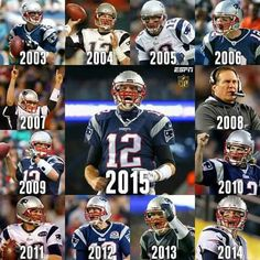 13 consecutive seasons of wins for the New England Patriots. New England Patriots Players, Patriots Fans, Nfl Football Players, Football Memes, Football Season, New England Patroits, Tom Brady Nfl, Boston Sports, Team Photos