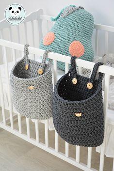 Crochet Basket Pattern, Baby Knitting Patterns, Crochet Patterns, Crochet Gifts, Crochet Toys, Knit Crochet, Crochet Decoration, Crochet Home Decor, Crochet Bag Tutorials