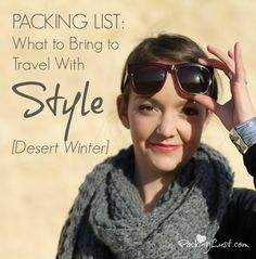 How To Pack Light For hot AND cold weather in the same trip.