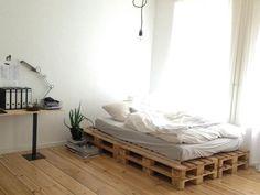 wanddeko selber machen: gefälschte backsteinwand als rustikale ... - Ideen 1 Zimmer Wohnung