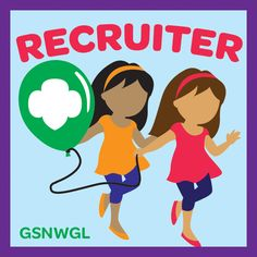 Do you have what it takes to become a master Girl Scout recruiter? Whether you choose to spread the word, speak out, bring a friend, get creative, write about all about it, or be a mentor we know you'll bring a bunch of new friends to Girl Scouts! Earn the Recruiter badge today!  http://connect.gsnwgl.org/resources/entry/807/