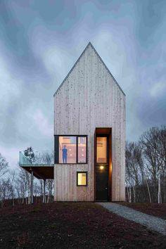 Дом для любителей дикой природы в Канаде