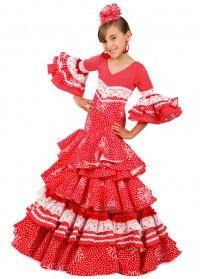 vestido flamenco modelo LOLITA (TALLA 2)