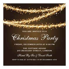 holiday party announcement templates
