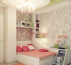 Inspiração de quarto para meninas.