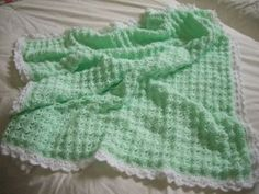 Ravelry: Baby Blanket - Archived pattern by Gina (Four Leaf Clover)