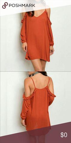 ⭐️COMING SOON!!!⭐️ Spaghetti strap ruffled Summer tunic dress. Dresses Mini