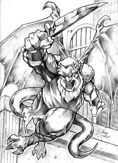 Hudson from Gargoyles by acook.deviantart.com on @deviantART