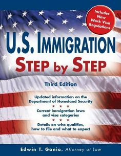 U.S. Immigration Step by Step by Edwin T. Gania. $12.62