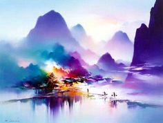 Breathtakingly Enchanted Landscapes Radiate with Color - My Modern Metropolis