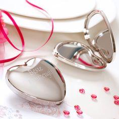 Ein Spiegel für die beste Trauzeugin als Geschenk und Dankeschön für die Hilfe bei der Hochzeit