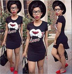 Women casual Print extra short shirt dress o-neck fashion club party wear black | eBay