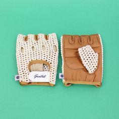 Vintage Style Cycling Gloves by Gantoli 1dd9d419c