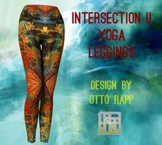 Yoga Fashion, My Yoga, Yoga Leggings, Leggings Fashion, Clothes For Women, Fabric, Design, Outerwear Women, Tejido