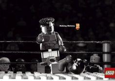 日刊・世界の広告クリエイティブ: レゴブロック50周年。