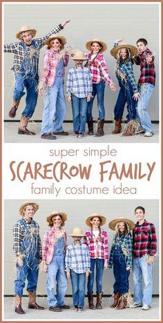 Easy Family Costume