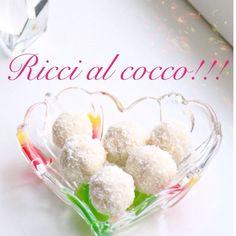 Ricci al cocco!!!