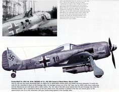 Fw 190 A8 - KG 200 used in march 1945 for Remagen operations