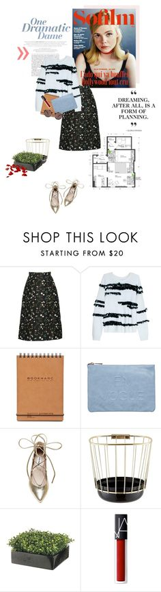 """Everybody loves you when you're gone."" by luxecouture ❤ liked on Polyvore featuring Therapy, Elizabeth and James, Miss Selfridge, Steve Madden, Incipit, NARS Cosmetics and Oliver Peoples"