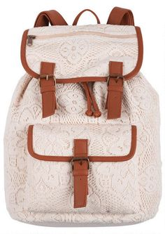Love this backpack from Delia's too bad it wouldn't fit more than 1 of my books
