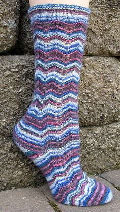 Design for Round 1 of Sock Madness 7 (2013).