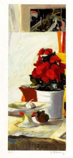 Panagiotis Tetsis (b. Artist Painting, Artist Art, Greek Paintings, Art Paintings, Post Impressionism, 10 Picture, Greek Art, Color Of Life, Vincent Van Gogh