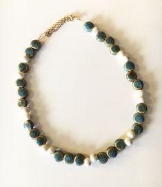 Handmade summer necklace Spring Summer 2018, Summer Time, Summer Necklace, Beaded Necklace, Photo And Video, Handmade, Instagram, Jewelry, Beaded Collar