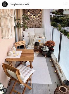 Trendy Small Balcony Patio Decorating Ideas with Tips - Cozy Home 101 - Modern Design