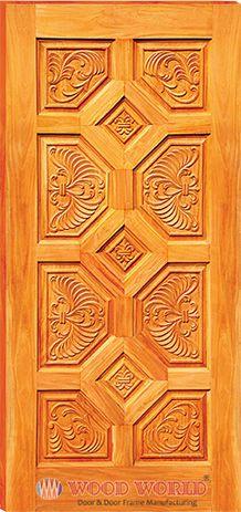 ideas main door design indian iron for 2019 Wooden Main Door Design, Front Door Design, Front Door Decor, House Front Door, Glass Front Door, Sliding Glass Door, Wooden Door Hangers, Wooden Doors, Indian Doors