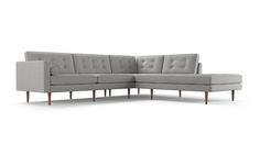 $3399- customizable! Braxton Sectional with Bumper by Joybird
