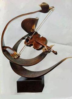 Violin Sculpture