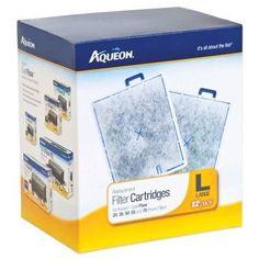 AQUATICS - FILTER CARTRIDGES - Aqueon Power Filter Cartridge - LARGE - 12 PACK - CENTRAL - AQUEON - UPC: 15905064194 - DEPT: AQUATIC PRODUCTS