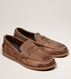 Bed Stu Uncle Dave Penny Loafer // Love these shoes, would get them in a flash!