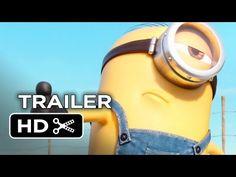 ▶ Minions Official Trailer #2 (2015) - Despicable Me Prequel HD - YouTube