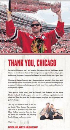 Patrick Sharp's Dallas Stars sweater doesn't look right - http://chicago.suntimes.com/blackhawks-hockey/7/71/779475/patrick-sharps-dallas-stars-sweater-doesnt-look-right