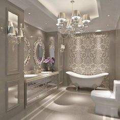 Don't wait to get the best luxury bathroomg designs inspiration! Find it with Maison Valentina at