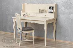שולחן כתיבה ומגירונים מעוצבים מעץ מלא דגם מאיה - האוס אין