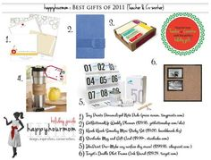 Great gift ideas for Teacher or co-worker!